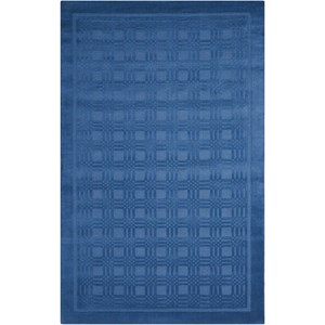 "Nourison Westport 3'6"" x 5'6"" Blue Rectangle Rug"
