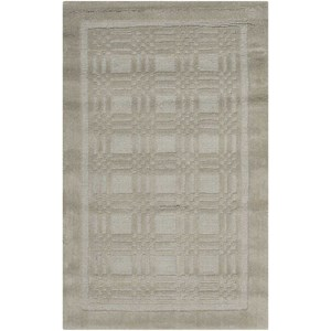 "Nourison Westport 3'6"" x 5'6"" Grey Rectangle Rug"