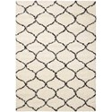 "Nourison Windsor 8'2"" X 10' Ivory Rug - Item Number: WIN01 IV 82X10"