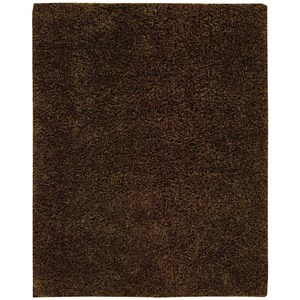 "Nourison Zen 5'6"" x 7'5"" Espresso Rectangle Rug"