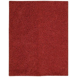 "Nourison Zen 5'6"" x 7'5"" Red Rectangle Rug"