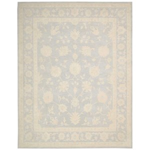 8' X 11' Light Blue Rug
