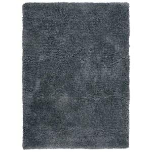 Nourison Zuma 5' x 7' Dark Grey Rectangle Rug