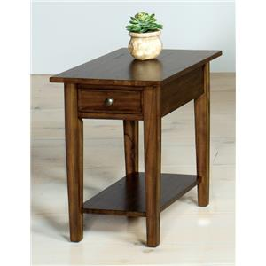 Null Furniture 1900 International Accents Rectangular End Table