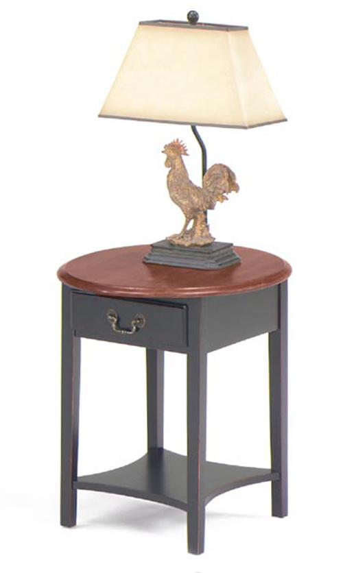 Null Furniture 1900 International Accents Petite Oval End Table - Item Number: 1900-06B