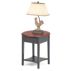 Null Furniture 1900 International Accents Petite Oval End Table