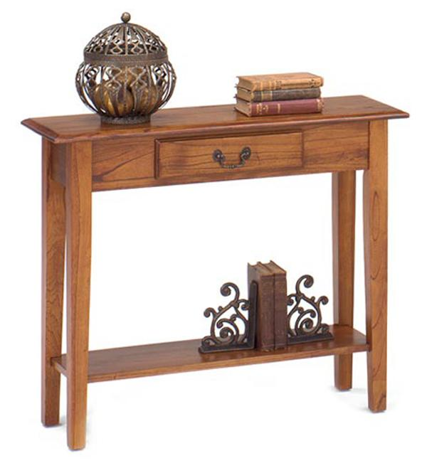 1900 International Accents Sofa Console Table by Null Furniture at Dunk & Bright Furniture
