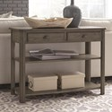 Null Furniture 2114 Sofa/Media Console Table - Item Number: 2114-09