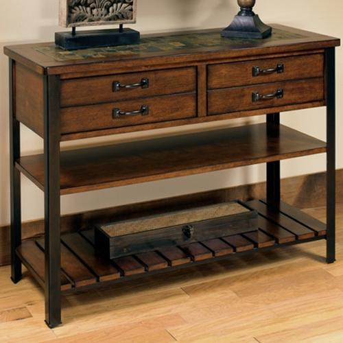 Null Furniture 3013 3013 09 Sofa Table With 2 Drawers And