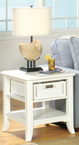 Null Furniture 4010W END TABLE - Item Number: 4010