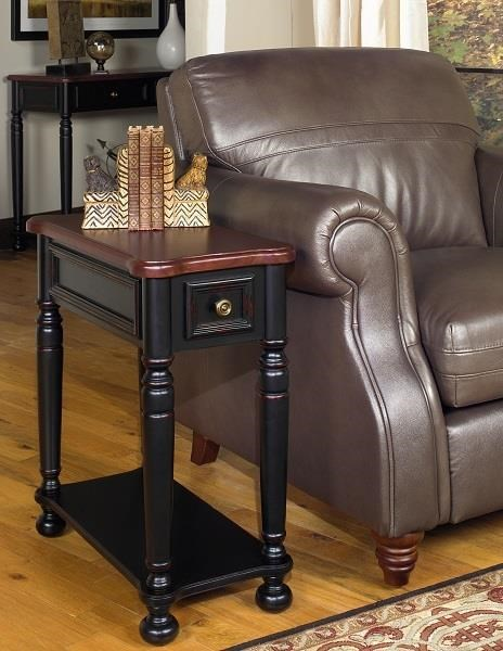 4014 Chairside End Table by Null Furniture at Dunk & Bright Furniture