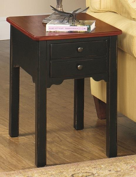 5014 Rectangular End Table by Null Furniture at Dunk & Bright Furniture