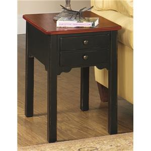 Null Furniture 5014 Rectangular End Table