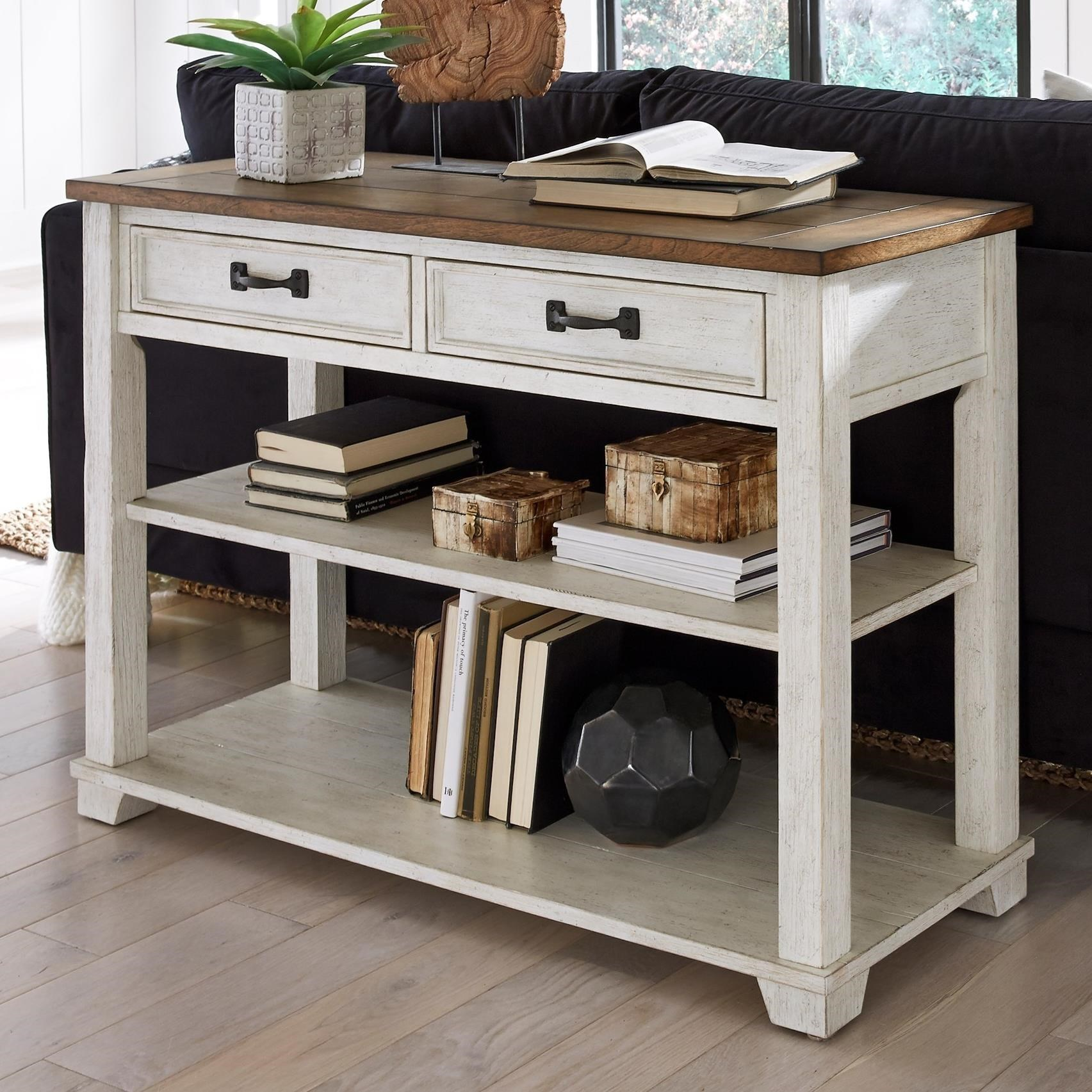 5519 Sofa/Media Console Table by Null Furniture at Dunk & Bright Furniture