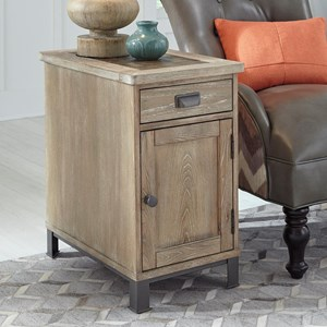 Chairside Cabinet Table