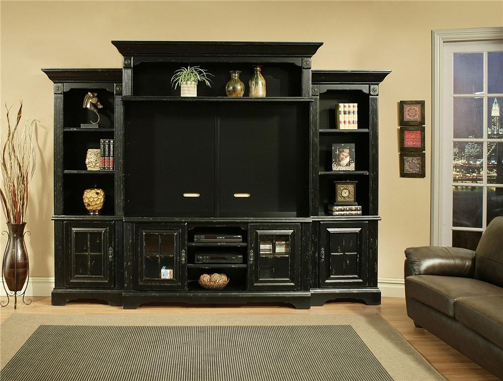 Morris Home Furnishings Somerset Somerset 5 Piece Wall Unit - Item Number: 5516/5549/5576/5578/5586