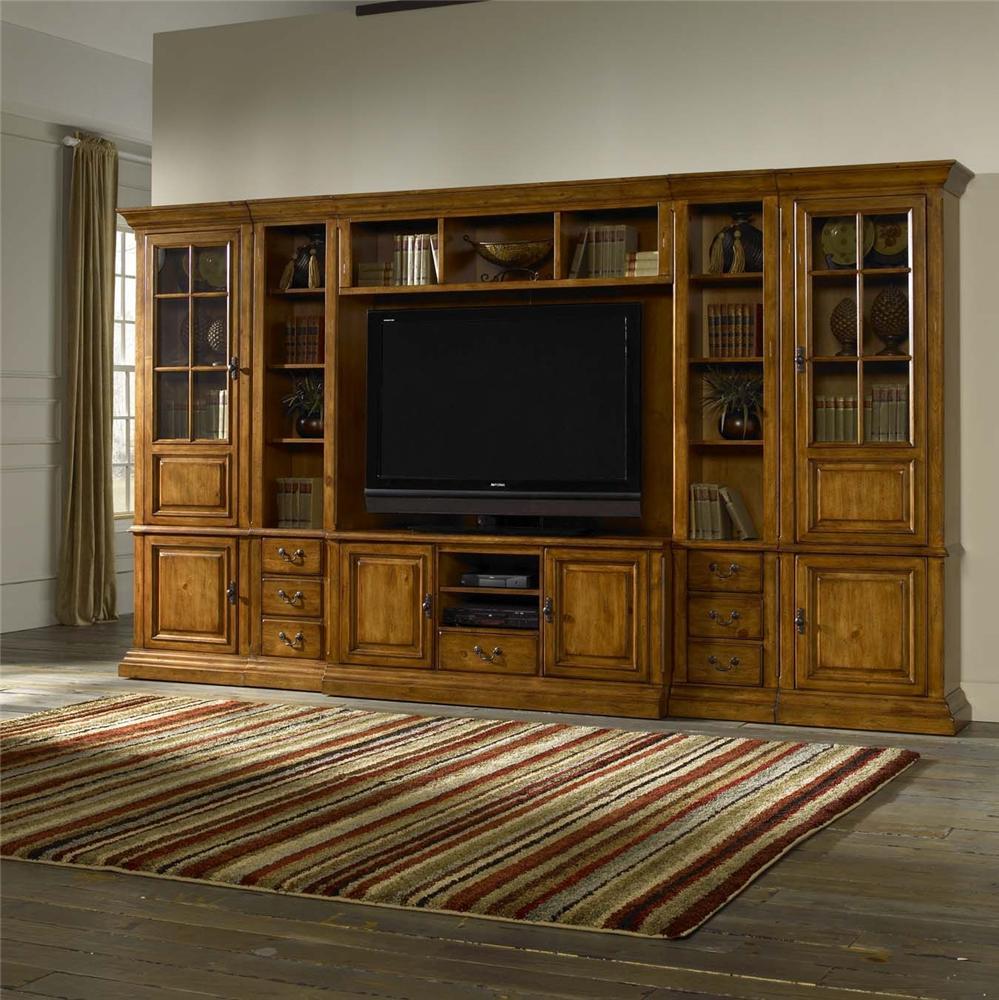 Morris Home Furnishings Newport Newport 6 Piece Wall Unit - Item Number: 3749/3773/3775/3776(2)/3786