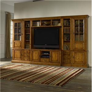 Morris Home Furnishings Newport Newport 6 Piece Wall Unit
