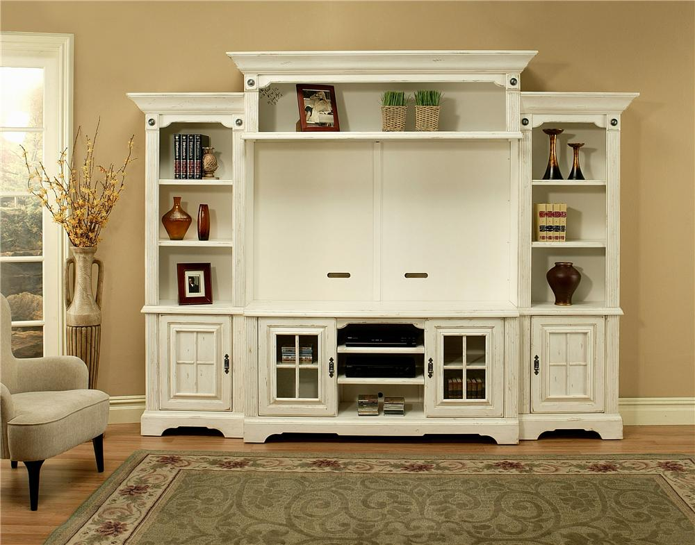 Morris Home Furnishings Somerset Somerset 5 Piece Wall Unit - Item Number: 6516/6549/6576/6578/6586