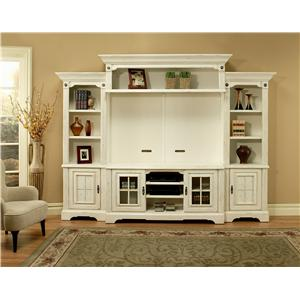 Morris Home Furnishings Somerset Somerset 5 Piece Wall Unit