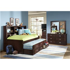 Morris Home Furnishings Urbana Urbana Twin Daybed with Trundle