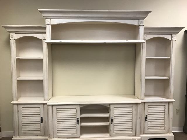 Oak Furniture West 4049CHW 4 Piece Wall Unit - Item Number: 4049CHW