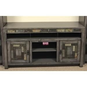 Oak Furniture West 6660 TV stand