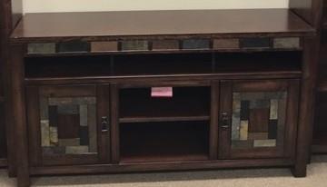 Oak Furniture West 6660 TV stand - Item Number: 6660N