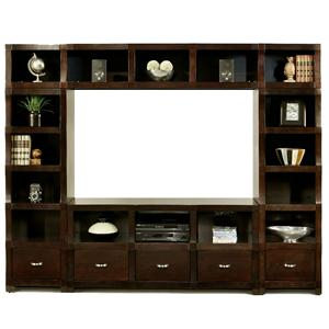 Morris Home Furnishings Cainhill Cainhill 4 Piece Wall Unit