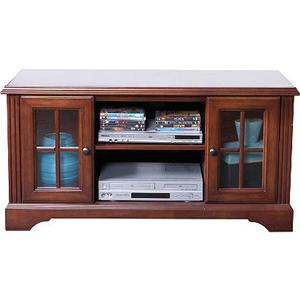 Storage Cabinets By Oak Furniture West Traditional 48 Tv Console