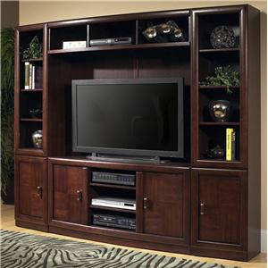 Oak Furniture West Escapade TV Console Wall Unit
