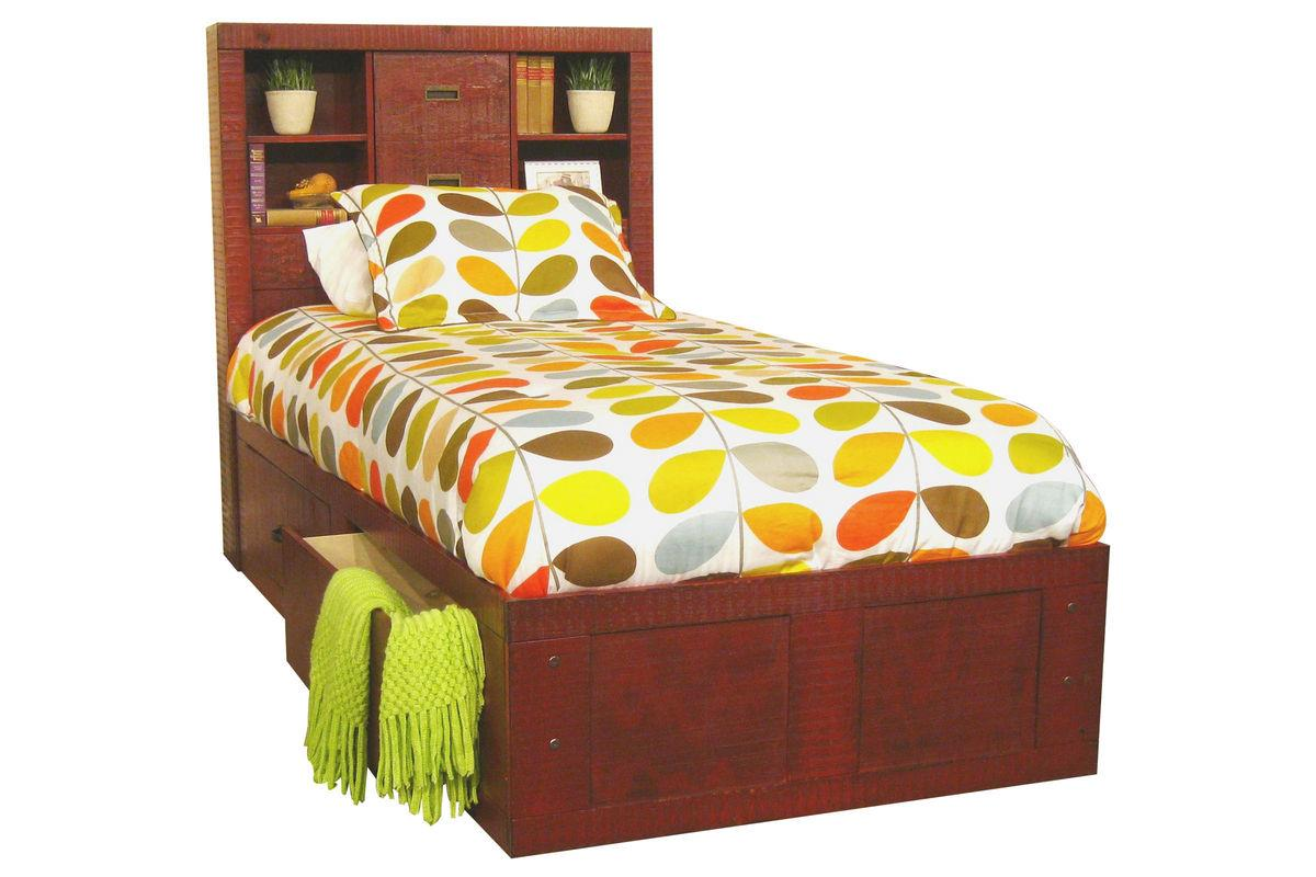 Morris Home Furnishings Frisco Frisco Twin Captain Bed with Storage - Item Number: 475815884