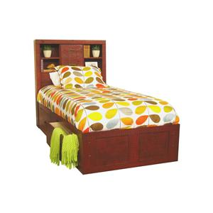 Morris Home Furnishings Frisco Frisco Twin Captain Bed with Storage