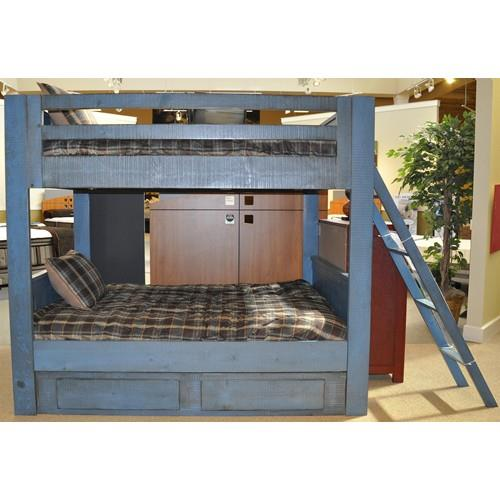 Morris Home Furnishings Frisco Frisco Twin Bunk Bed with Ladder - Item Number: 475815923
