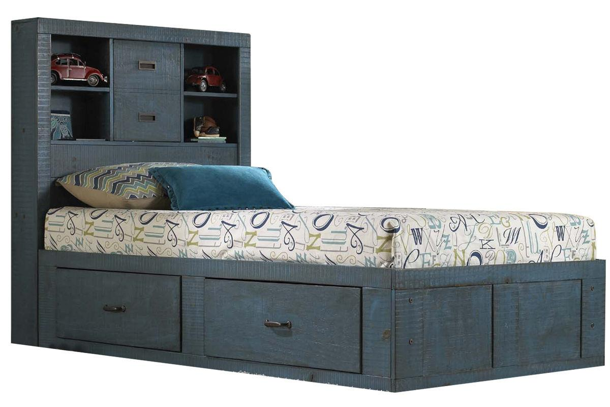 Morris Home Furnishings Frisco Frisco Twin Captain Bed with Storage - Item Number: 475815947