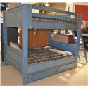 Morris Home Furnishings Frisco Full Bunk Bed