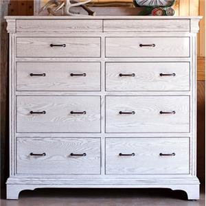 Oakwood Industries Edinburgh 84 Grand Dresser