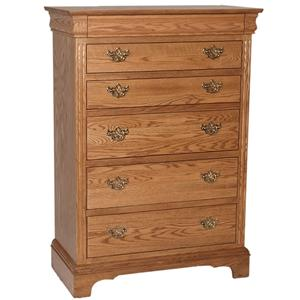 Oakwood Industries Edinburgh 84 Chest of Drawers