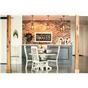 Oakwood Industries Milano 5-pc Dining Set - Item Number: 155Set