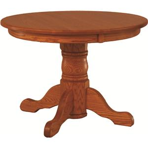 Oakwood Industries Casual Dining Round Table