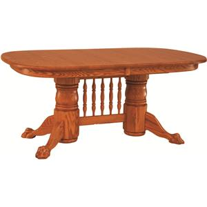 Oakwood Industries Casual Dining Banquet Table