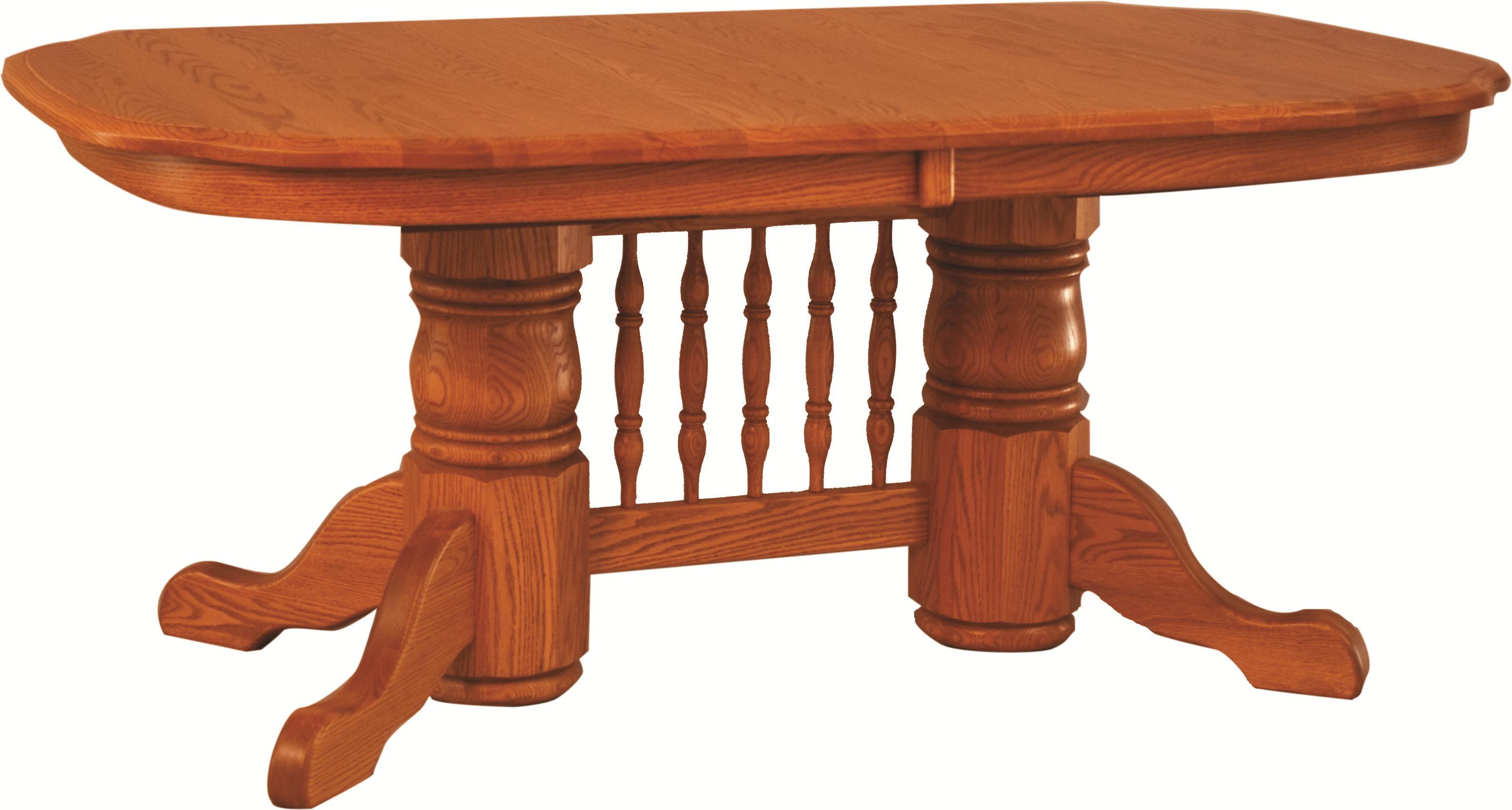 Double Pedestal Banquet Table