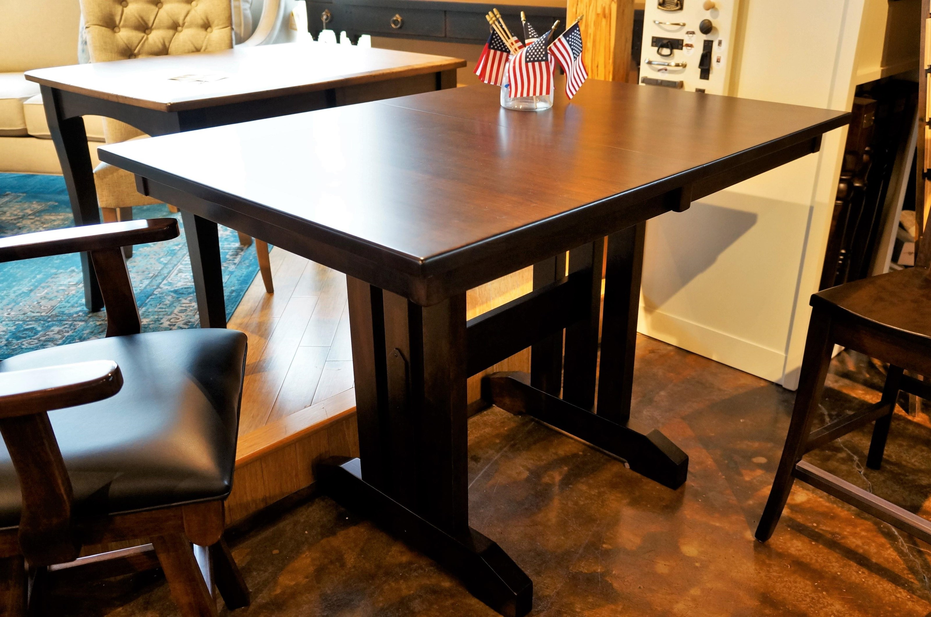 Casual Dining Mini Mission Table by Oakwood Industries at Mueller Furniture