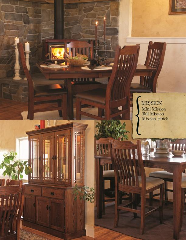 Oakwood Industries Furniture ~ Oakwood industries casual dining piece table and chair
