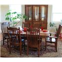Oakwood Industries Casual Dining 7 Piece Dining Set - Item Number: 11704+2x216W+215W