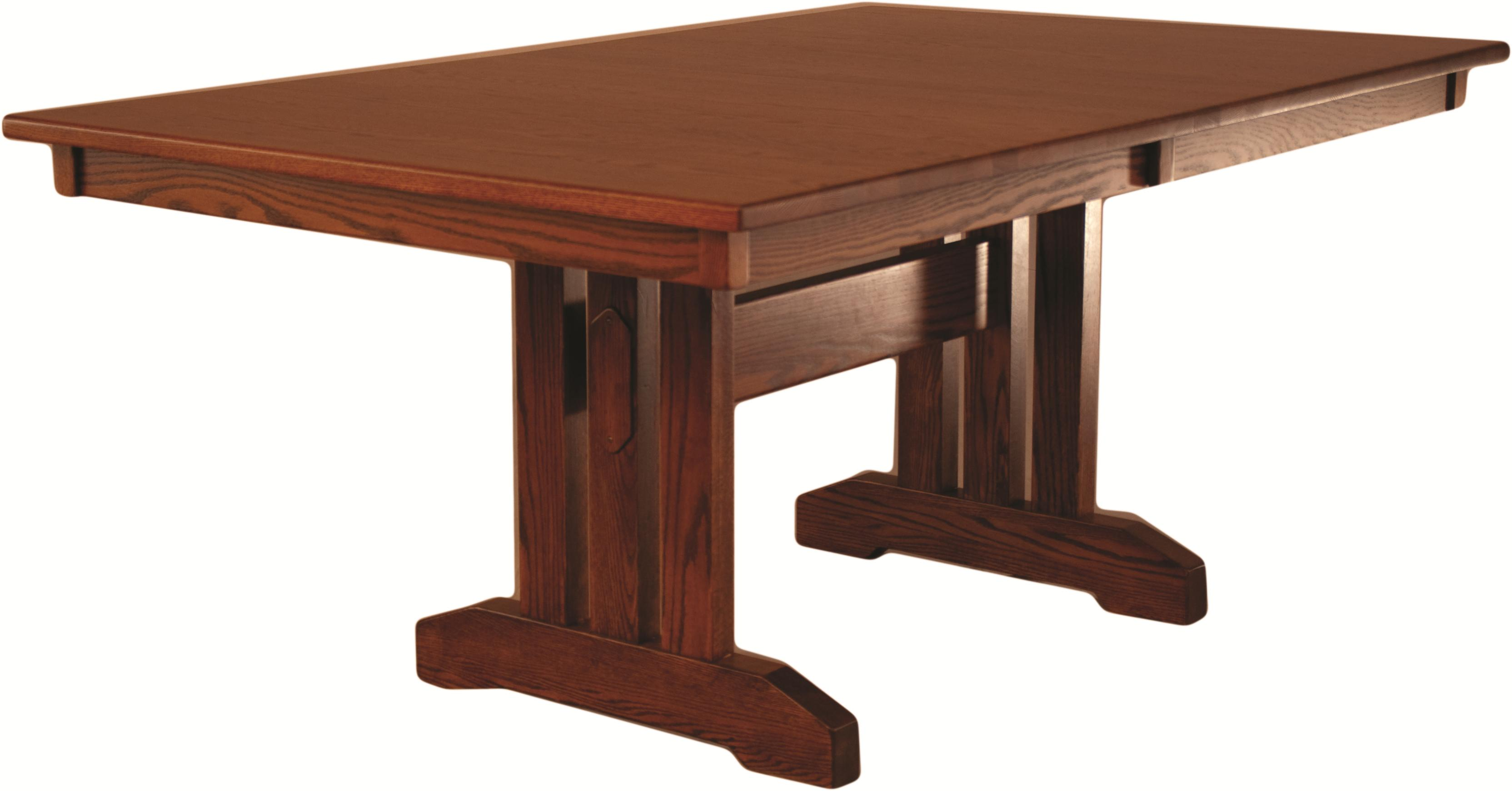 Casual Dining Mission Table by Oakwood Industries at Mueller Furniture