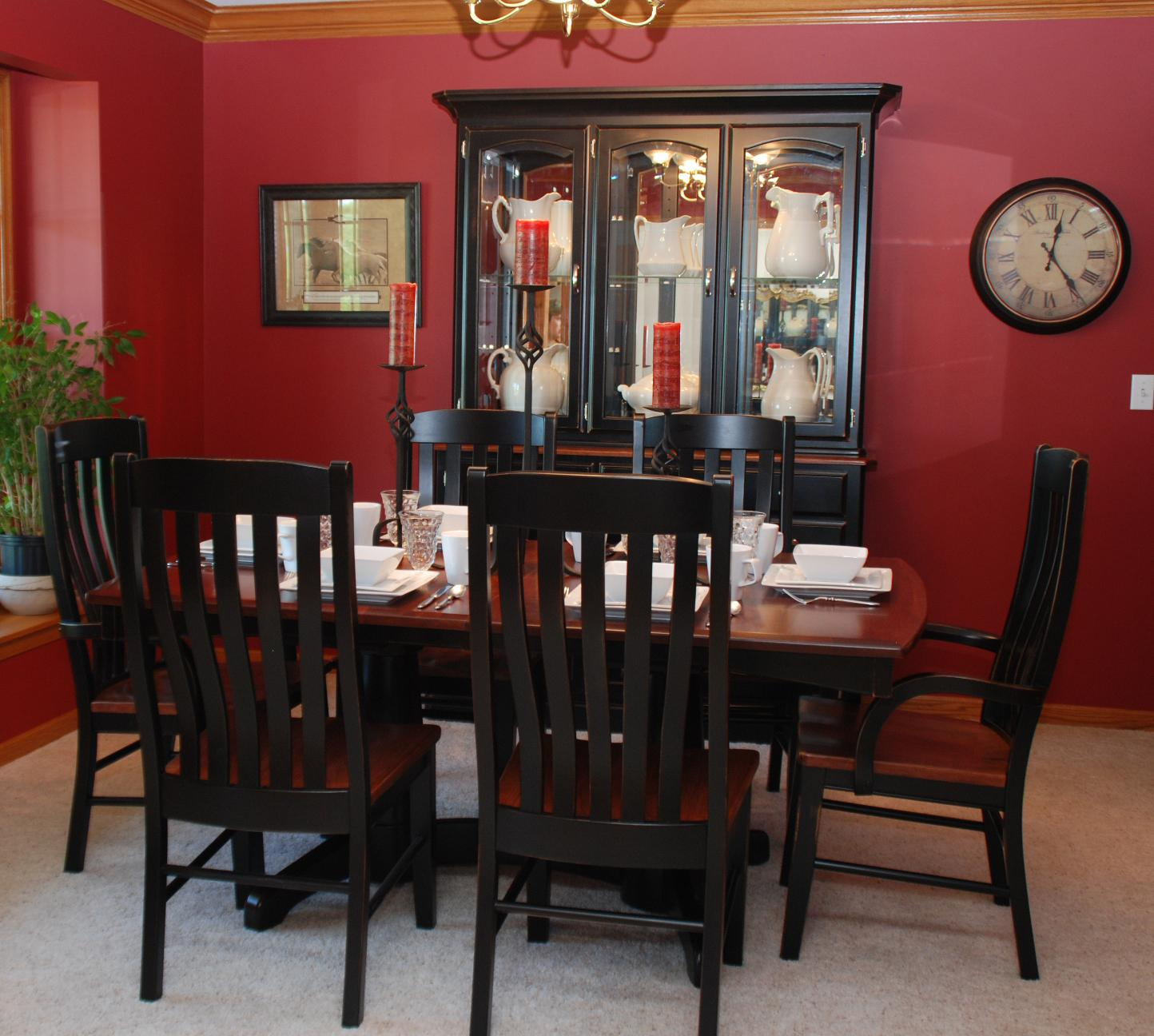 Casual Dining Tables And Chairs: Oakwood Industries Casual Dining 7 Piece Table And Chair