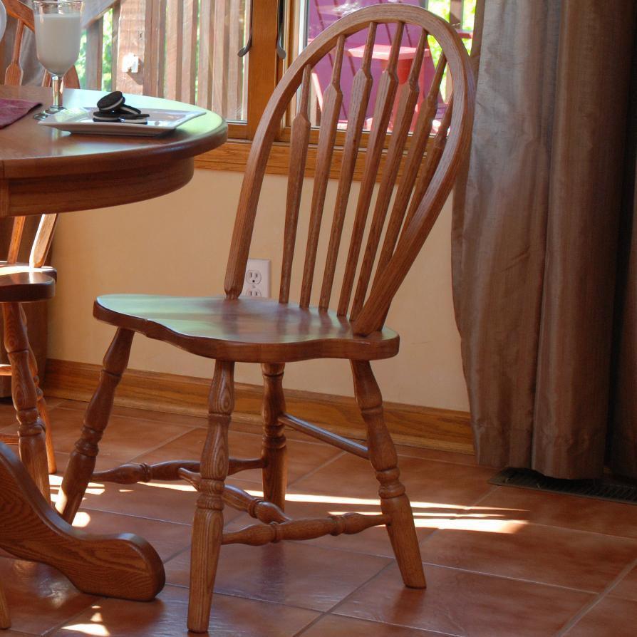 Bow Arrow Side Chair