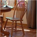 Oakwood Industries Casual Dining Bow Arrow Side Chair - Item Number: 203