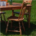 Oakwood Industries Casual Dining Plain Back Side Chair - Item Number: 205P
